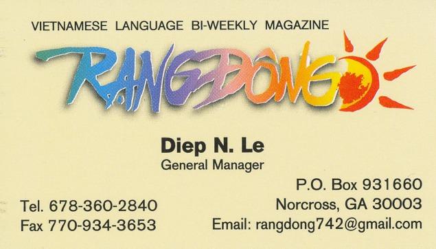 Rangdong_Diep_Le
