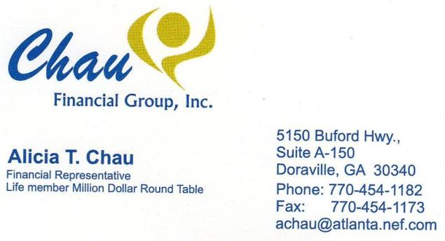 Business Card_Chau Insurance
