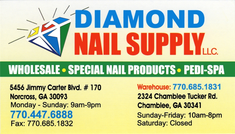Business Card_Diamond Nail Supply