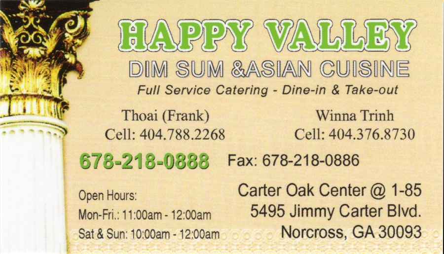 Business Card_Happy Valley