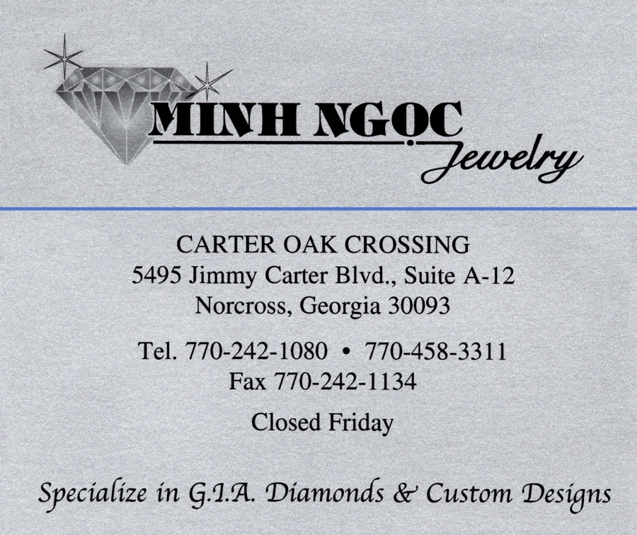 Business Card_Minh Ngoc Jewelry