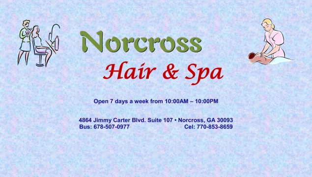 Business Card_Norcross Hair