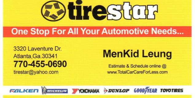 Business Card_Tire Star